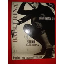 Meia Calça Ballerina Collant Studio Quality System 3d Fio 50