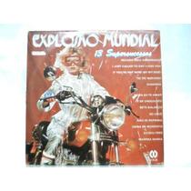 Lp De Vinil Explosão Mundial 13 Supersucessos Cid 1984