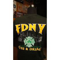 Poleras Bomberos New York Fdny Exclusivas