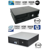 Computador Core 2 Duo 2.6ghz 4gb Ram,dd 500gb Tienda Fisica