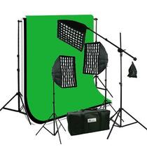 Nuevo Kit Fotografico Estudio Iluminacion Profesional Luz