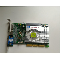 Placa De Video 256mb Agp - Ge Force Fx-5200 Nvidia