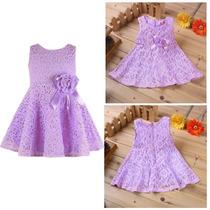 Vestido Infantil Renda Lindo