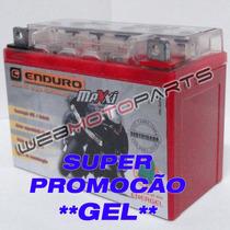 Bateria Gel Moto Ybr 125 Ybr125 Factor Yamaha 12n5.5