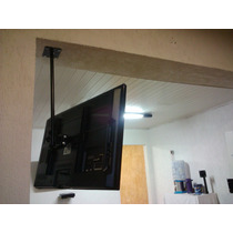 Suporte Teto Tv Lcd Led 3d Quadri Articulado 26 40 49 55