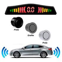 Kit Sensor De Estacionamento 8 Pontos Display Sonoro Techone