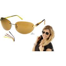Óculos De Sol Champion Troca Hastes Gs00013a Gold