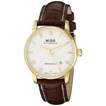 Relógio Mido Baroncelli M86003268 Automatico 38mm Dourado
