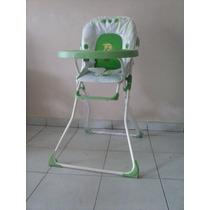 Silla De Comer Para Bebe Kid Go Verde Manzana