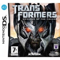 Jogo Wi-fi Transformers Revenge Of The Fallen Do Nintendo Ds