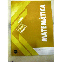 Matemática - Caderno Do Aluno - Ensino Médio-