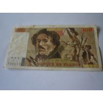 Cédula De 100 Francs Da França - De 1978 - Novoseantigos