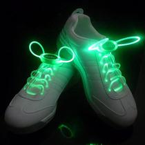 Cadarço Luminoso Led Verde Neon Para Tênis (par) Hutz
