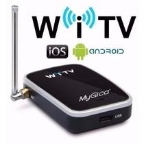 Receptor Tv Digital Para Tablet Apple Android Witv
