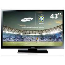 Tv Samsung Pn43h4000 Com Tela Quebrada Ou Placa Separada