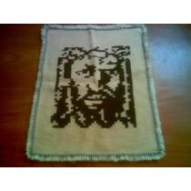 Tapete Arraiolo - Rosto De Cristo - Tam: 83 X 62 Cm