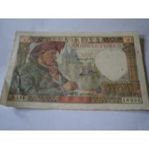 Cédula De 50 Francs Da França - Anos 1941 - Novoseantigos
