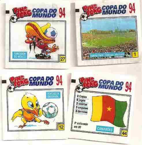 Figurinhas Ping Pong Copa 94 - R  15 d2895cbea3b7d