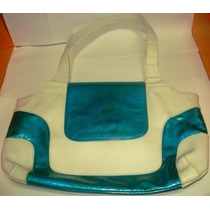 Bolsa Da Forum Azul E Branca Original Linda! (mal.01)