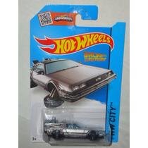 Hot Wheels Time Machine Hover Mode Volver Al Futuro Delorean
