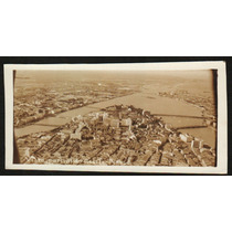 Cartão Postal Antigo Recife Pe Vista Aérea 7