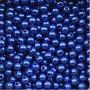 Perola Abs 6mm C Furo Cor Azul Bic (royal) Pcte 500 Unidades