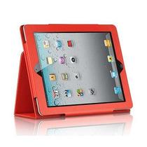 Capa Case Executiva Livro Para Apple Ipad 2 3 E 4 Couro Luxo