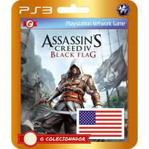 Assassins Creed Iv Black Flag Legendado Br! (código Ps3)