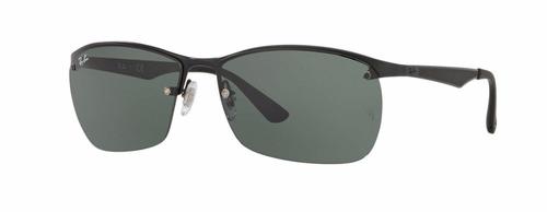 c3e44d560e Ray Ban Rb3550 006 71 Black Lentes Green Original - R  599