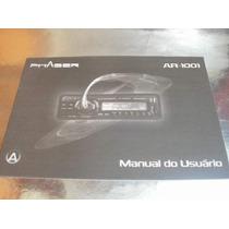 ( L - 260 / 08 ) Manual Instruções Rádio Phaser Ar 1001