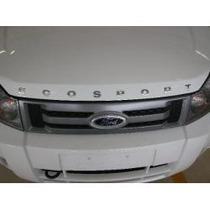 Emblema Letreiro Capô Ecosport Cromado Ford- Vm Auto