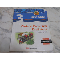 Livro História Projeto Buriti 3- Livro Do Professor