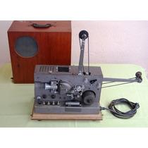 Antigo Projetor 16mm Sonoro Ampl Valvulado Importado Eua