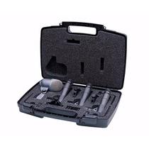 Shure Kit Bateria Sm57+ Beta 52a + 3 A56d + Case + Frete