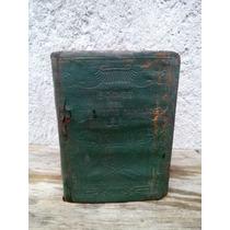 Alcancia Antigua De Coleccion Librito Metalico