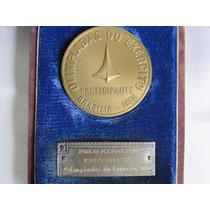 Medalha Antiga Dourada Olimíadas Do Exército - 1974