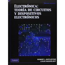 Libro Electronica Teoria De Circuitos - Boylestad + Regalo