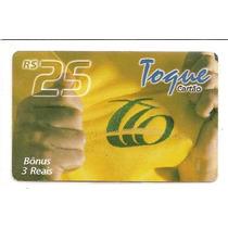 Cartão Pré - Pago - Toque - Cartão - Bônus 3 Reais