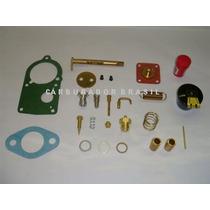 Kit De Reparos Solex 30 Pic Completo - Carburador Brasil