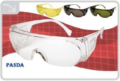 Óculos De Proteção E Segurança C c.a Panda Ideal P dentistas - R  18 ... b7e795ff0e
