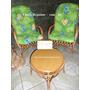 Cadeiras De Vime Jogo De 2 Cadeiras Mais Mesa Para Varanda