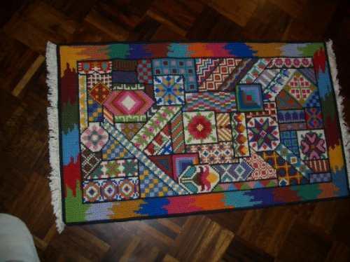 Tapete casa caiada patchwork r em mercado livre - Casas de patchwork ...