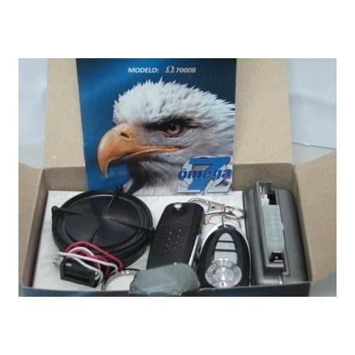 Alarme Com Chaveiro Canivete Omega 7 Txc Look Out 6x9   R$ 149,99 Em  Mercado Livre