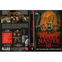 Dvd Puppet Master 3 Iii Titere Horror Terror Gore Clasica