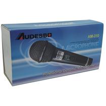 Microfono Profesional Audesbo Modelo Am-310 Alambrico Cable