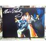Elvis Presley Violão Jumpsuit Lindo Quadro Artesanal