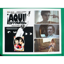 Angelica Rivera ¡aqui Espantaan! Rafael Inclan Cartel D Cine