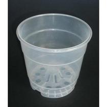 Macetas Transparentes Para Orquideas 10 Pzas /$100.00