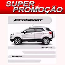 Friso Lateral Ford Ecosport 2013/2015 Branco Artico S-juros