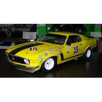 1:18 Ford Mustang 1970 Boss 302 1970 Trans Am Follmer Welly